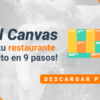 Model Canvas: ¡Haz que tu restaurante sea un éxito en 9 pasos!
